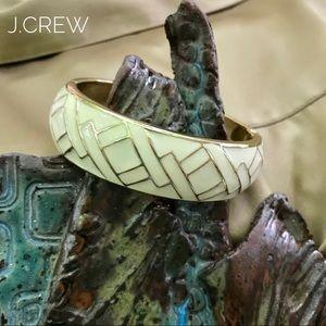 CREAM & GOLD J.CREW BRACELET